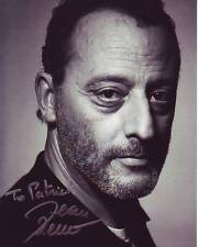 JEAN RENO Autographed Signed Photograph - To Patrick