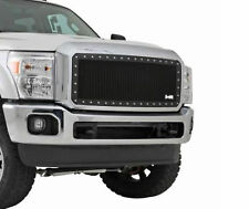 Smittybilt M1 FORD F250 F350 SUPERDUTY Grille Black Stainless Wire Mesh 615831