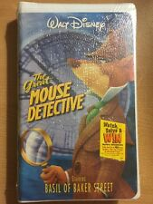 THE GREAT MOUSE DETECTIVE NEW SEALED Walt Disney Home Video clamshell VHS new