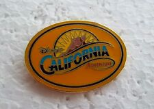 *~*DISNEY CALIFORNIA ADVENTURE GOLD OVAL LOGO PIN *~*