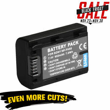 950mAh Battery for Sony NP-FH50 H series NP-FH40 DSC-HX1 UK Local