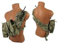 molle bandolier paintball vest Airsoft Modular chest rig kit №52 a-tacs au