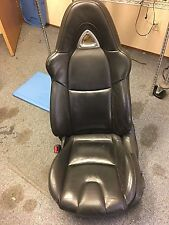 2004 2005 2006 2007 2008 MAZDA RX-8 FRONT LEFT DRIVER SEAT (BLACK LEATHER)