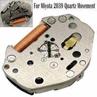 Pour Miyota 2039 Quartz Movement Watch Repair Parts Accessories 3 Hands 6¾ x 8 ‴