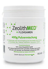 Zeolith MED® + Flohsamen 400g Pulvermischung