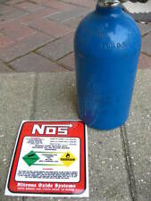 2.5 LB NOS REPLACEMENT NITROUS BOTTLE DECAL NEW Sticker NHRA KOTS 2lb 8oz Label