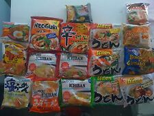 Instant Noodle Sampler Udon Ramen Pho Chow Mein Pad thai sapporo nong shim mama