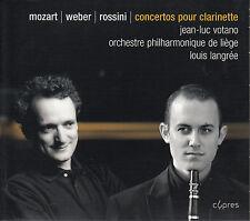 CD ALBUM JEAN-LUC VOTANO / LOUIS LANGREE / ORCHESTRE LIEGE MOZART WEBER ROSSINI