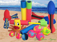 Strand Spielzeug, Splashball, Wasser Spritze, Wurf Spiel Kick Ball, Wasserball