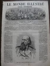 MONDE ILL 1866 N 469 LE FENIANISME IRLANDAIS J.STEPHENS