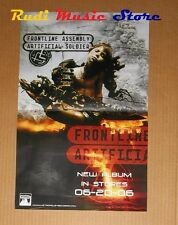 POSTER rock PROMO FRONTLINE ASSEMBLY SOLDIER 43 X 28 cm NO cd dvd vhs lp live mc