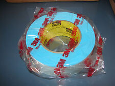 3M Repulpable Double Coated Web Splicing Tape 9038B Blue, 2 in x 60 yd (Qty-1)