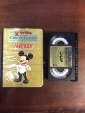 Walt Disney Limited Gold Edition Mickey Betamax 1984 Cartoon Mickey Mouse