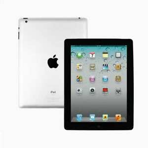 Apple iPad 2 9.7in 16GB Wi-Fi Tablet - Black - 1 Year Warranty - Good Condition
