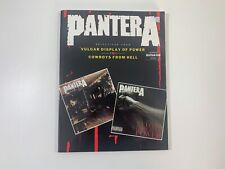 Pantera Vulgar Displays of Power & Cowboys from Hell Sheet Music Book Guitar Tab