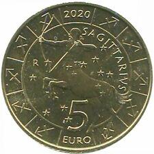 San Marino 2020 Série Zodiaque : Sagittaire Monometallico
