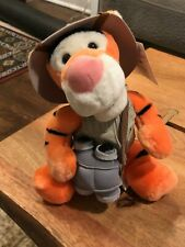 Walt Disney World Tigger Animal Kingdom Safari 10in Plush Collectible!
