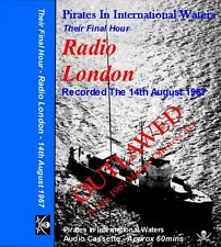 Pirate Radio - Outlawed - Radio London Their Final Hour on C60 Audio cassette