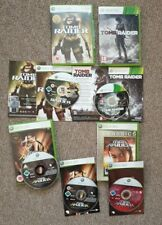 Tomb Raider Collection Xbox 360 5 disques Legend Anniversary Underworld RARE Comme neuf