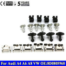 20x Undertray Guard Engine Under Cover Fixing Clips Screw FITS Audi A4 A6 A8 VW