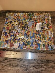 """The Simpson Great Moments Collage - Desktop Mouse Pad - Large 12"""" X 10"""""""