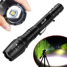 Ultrafire 90000 Lumens T6 Zoomable LED 18650 Flashlight Torch Camping Lamp Light