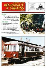 CHEMINS de FER RÉGIONAUX et URBAINS - N° 269 (1998 - 5) (FACS - CFRU) (Train)