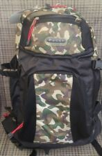 Pucci P-LINE Fishing HIKING TACTICAL CAMO PADED Bag Backpack 18x14x4 waist strap
