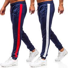 Trainingshose Hose Jogginghose Sporthose Slim Fit Classic Herren Mix BOLF Motiv