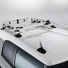 Aluminum Silver OE Style Top Roof Rack Crossbar Bag Carrier for 07-14 FJ Cruiser