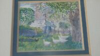 Framed Miniature Art By Louise Waugh The Country Collection Irish Farm House