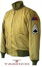 Fury Brad Pitt Tanker WW2 Military High Quality Cotton Jacket