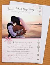Special Wedding Day Card With loving Verse To Both of you on your Wedding Day