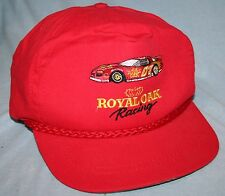 Vintage 90s ROYAL OAK RACING Embroidered HAT CAP Charcoal Chevrolet Camaro