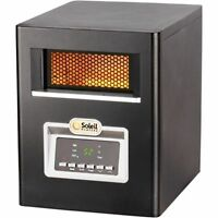 Infrared Quartz Portable Electric Space Heater with Remote 1500 Watts