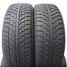 2 x Winter Tires Bridgestone 215/60 R17 Blizzak Lm 80 Evo 96H 0 9/32in