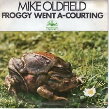 7inch MIKE OLDFIELD froggy went a-courting HOLLAND 1974 EX (S1373)