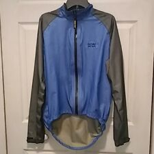 GORE BIKE WEAR MEN'S GORE-TEX FULL ZIP JACKET Packable Cycling SZ XL Jacket