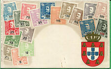 Ottmar Zieher Stamps of Portugal on Postcard - Munchen No. 1 - S8212