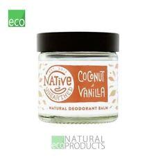 Native Unearthed Natural Deodorant Balm Coconut & Vanilla 60ml