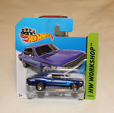 2014 Hot Wheels HW Workshop #199 Chevrolet SS Blue New SC