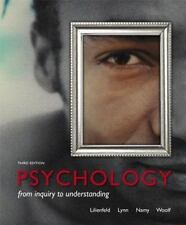 Psychology: From Inquiry to Understanding 3rd (Hardcover)