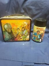 New ListingVintage 1974 Aladin Planet Of The Apes Metal Lunchbox With Thermos