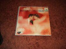 D'Artega plays - Music with a Heartbeat RARE USA pressing  LP  EX / VG