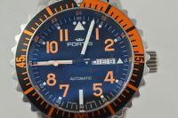 FORTIS Marinemaster Automatique Montre Hommes 42MM Acier 647.10.158.3 Beau État