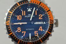 FORTIS Marinemaster Automatico Uomo Orologio 42MM Acciaio 647.10.158.3 Bel Stato