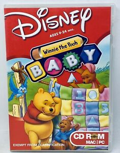 Disney Winnie the Pooh Games for Baby, Ages 9-24 Mos. PC CD Educational Learn