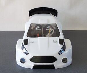 1/8th Fiesta RX Rallycross GT8 Rally body shell Hyper GT Losi Xray or similar