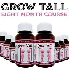 Bone Growth Treatment BE TALLER 8 Month course, Safely Grow, Sold Worldwide