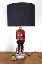 vintage Retro vintage Canadian Mountie regal royal table lamp original bespoke